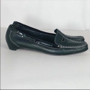 Cole Haan Black Leather Penny Loafers SIZE 7
